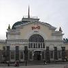 Железнодорожные вокзалы в Гусе Железном